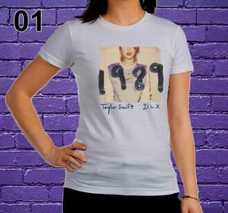t-shirt fashion women tshirts women tshirt women tops crop tops women shirts music shirt taylor swift swifty diva american apparel american style