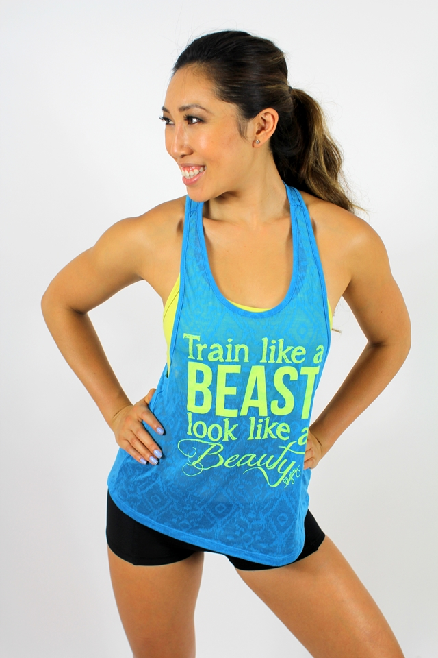 oGorgeous Gym Boutique - Train like a Beast Look like a Beauty Tank