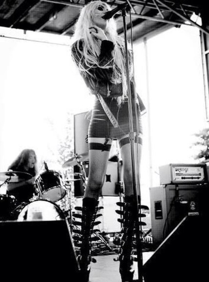 taylor momsen shoes grunge dress black black and white little black dress boots gothic jacket skirt
