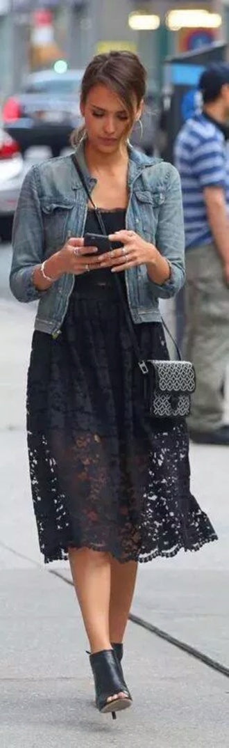 dress jessica alba lace lace dress lace skirt