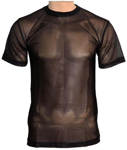 Epic Militaria > Black Mesh T-Shirt