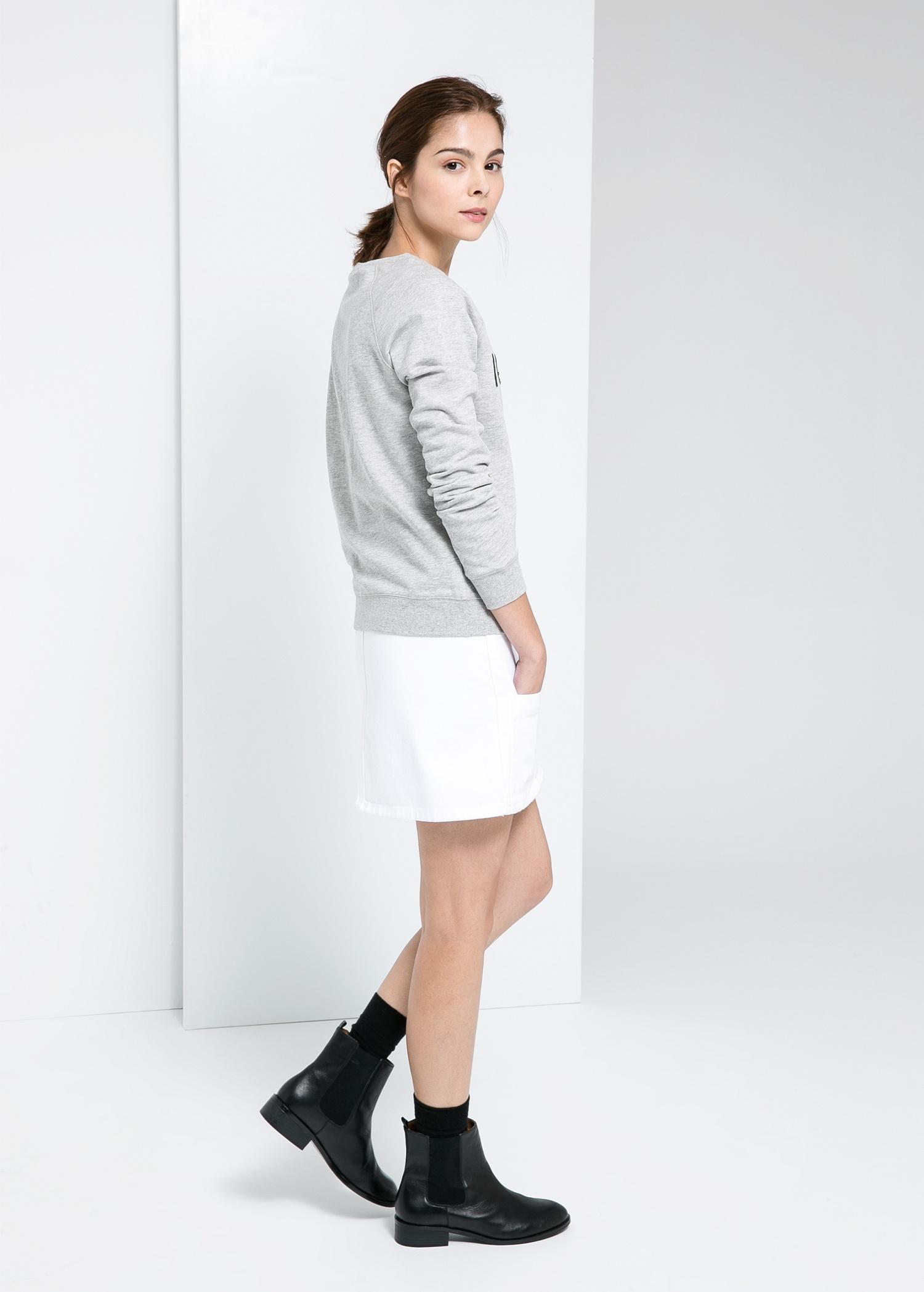 Sequin sweatshirt - Women | MANGO