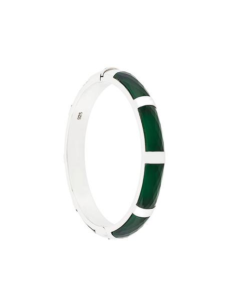 Monan cuff women cuff bracelet silver green jewels