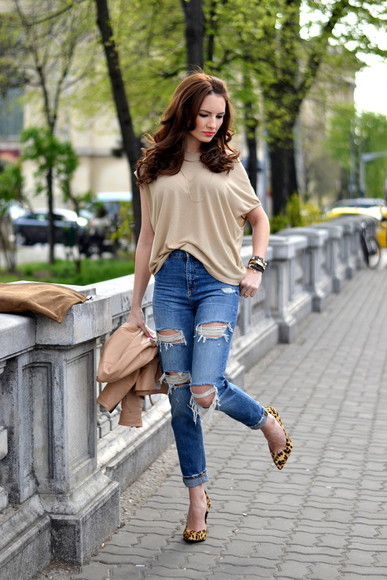 my silk fairytale blouse shoes bag jewels jacket jeans