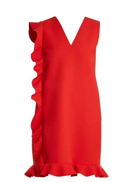 MSGM dress mini dress mini red
