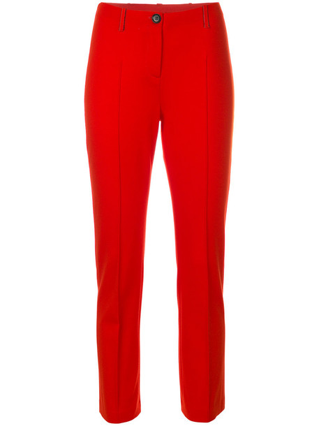 Marc Cain cropped women red pants