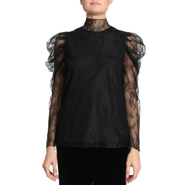 Blumarine t-shirt shirt t-shirt women black top