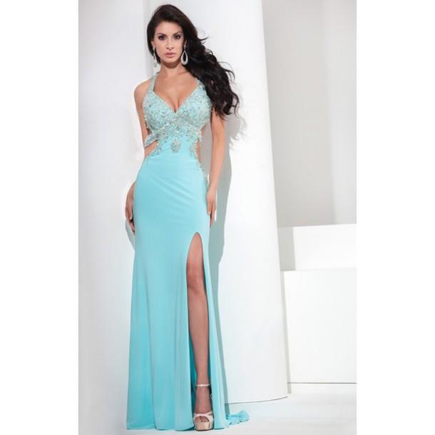 Galaxy High Low Dresses