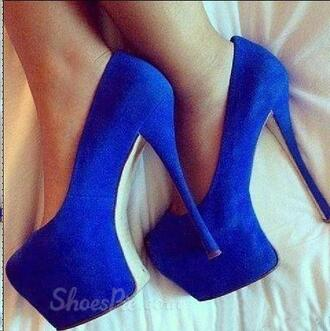 shoes blue heels blue heels high heels summer party boho bohemian vintage hipster vogue chanel