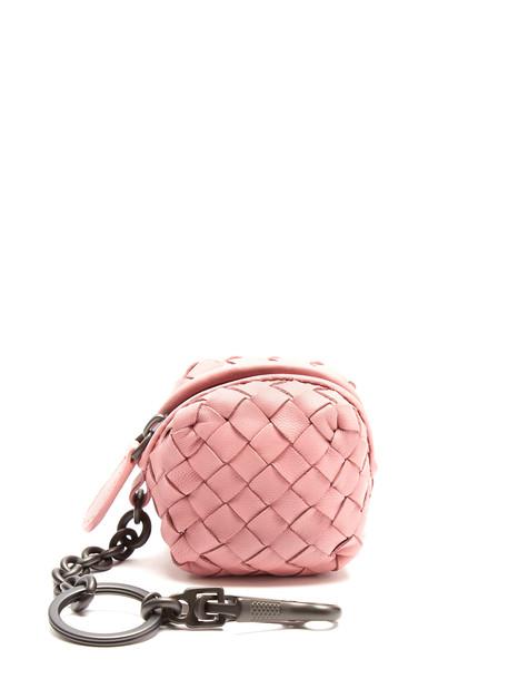 Bottega Veneta ring leather pink jewels