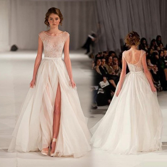 dress chiffon wedding dresses wedding dress wedding clothes bride dress prom dress