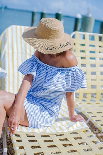 late afternoon blogger dress hat bag sunglasses
