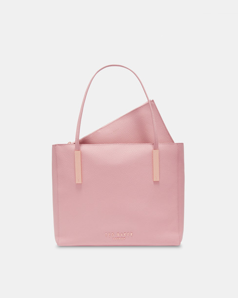 Ted Baker statement bag leather pink