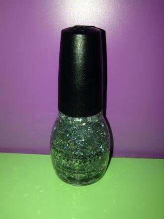 nail polish glitter