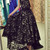 Black Lace Sleeveless High Low Maxi Dress