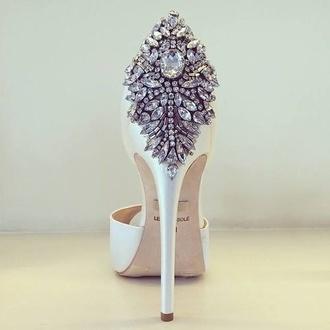 shoes pumps diamonds