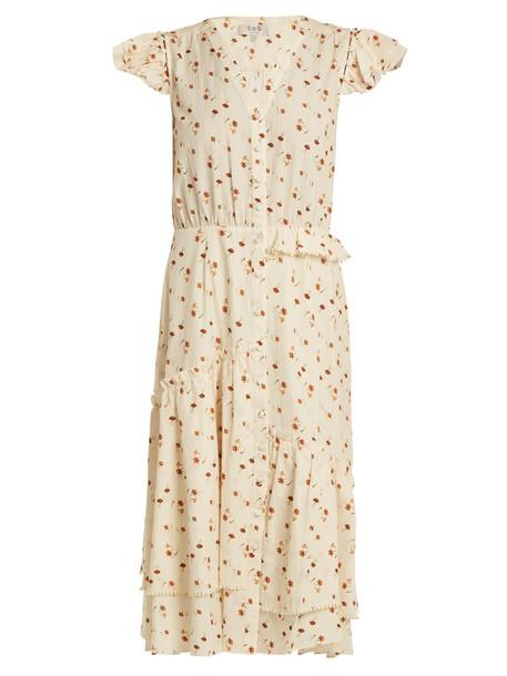 SEA dress ruffle floral cotton print