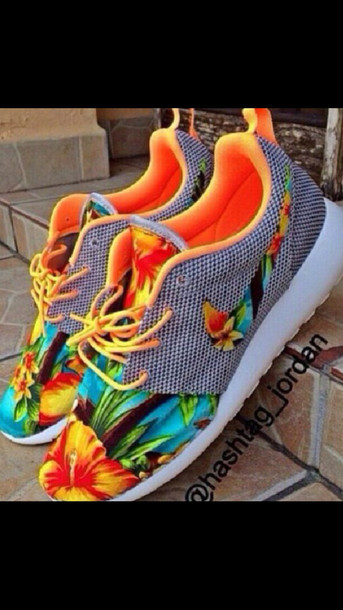 Nike Tropical Print Shoes