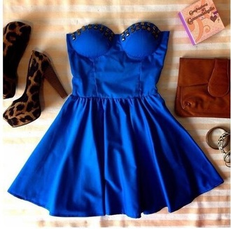 dress strapless studded short under wire bra