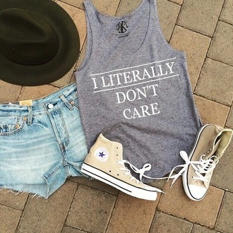 top weheartit grey top print shirt with text