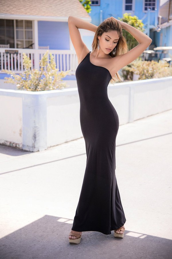 dress braided jaded one shoulder style geometric strappy back braided back detail ruched twist back detail mapalé maxi dress