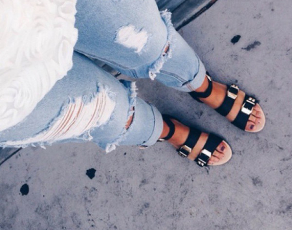 sandals summer shoes tumblr outfit tumblr shoes black shoes girly