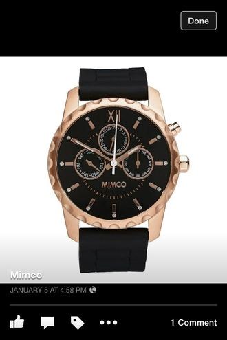 jewels watch mimco black watch