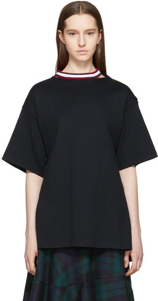 Facetasm Black Tie Back T-shirt