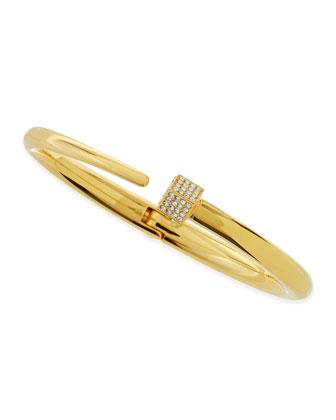 Vita Fede Eclipse Crystal Cube Bracelet, Yellow Gold - Neiman Marcus