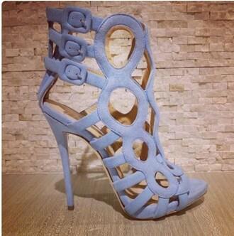 shoes high heels heels cute cute high heels purple strappy high heel sandals strappy heels