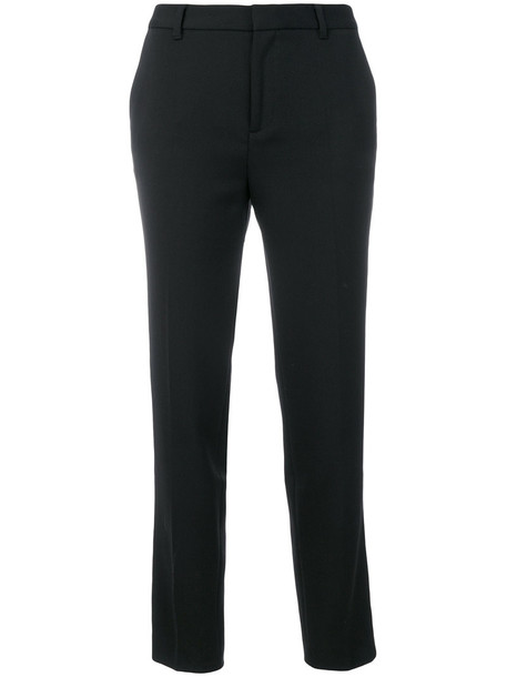 ESSENTIEL ANTWERP women spandex black wool pants