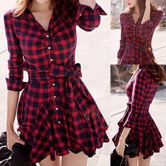 dress checkered dress winnipeg