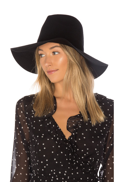 Brixton fedora black hat