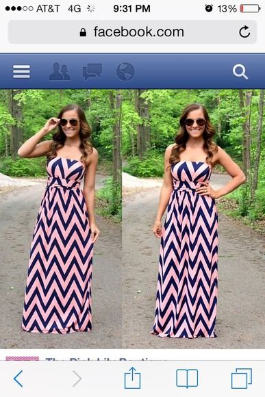 dress tribal print dress black long dress pink bustier dress zig zag pattern