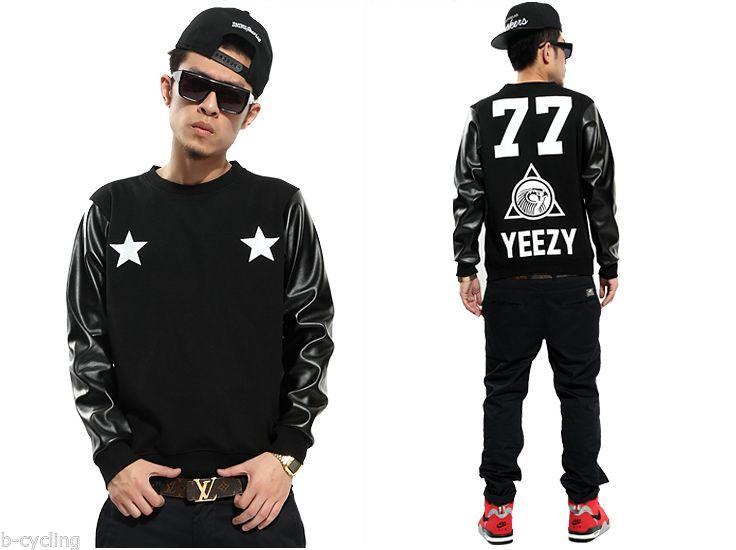 New HBA Pyrex YEEZY77 Hip Hop Rap Street Crewneck Inspired Hoodie Sweatshirt | eBay