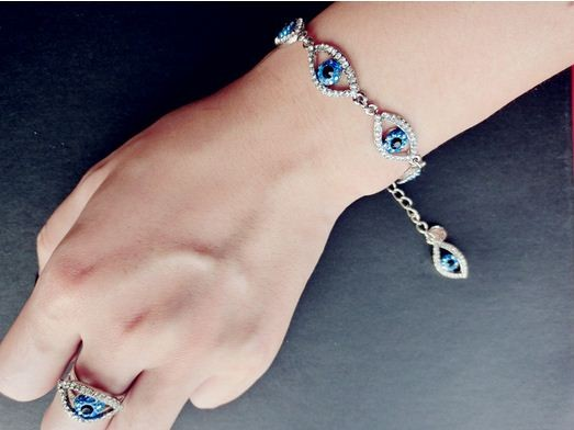 kismet                  - Bejeweled Blue Eye Bracelet