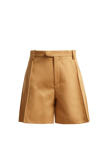 shorts high cotton brown