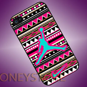 Jordan Air Nike Logo Aztec - Photo Print for iPhone 4/4s, iPhone 5/5C, Samsung S3 i9300, Samsung S4 i9500 Hard Case on Wanelo