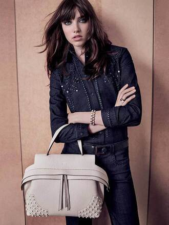bag designer luxury autumn/winter fall outfits classic trendy beige shark leather holiday gift