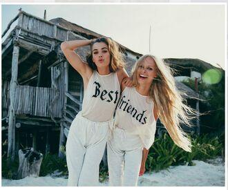 shirt bff t-shirt lifestyle best friend shirt blouse bestfriend shirt closet goals