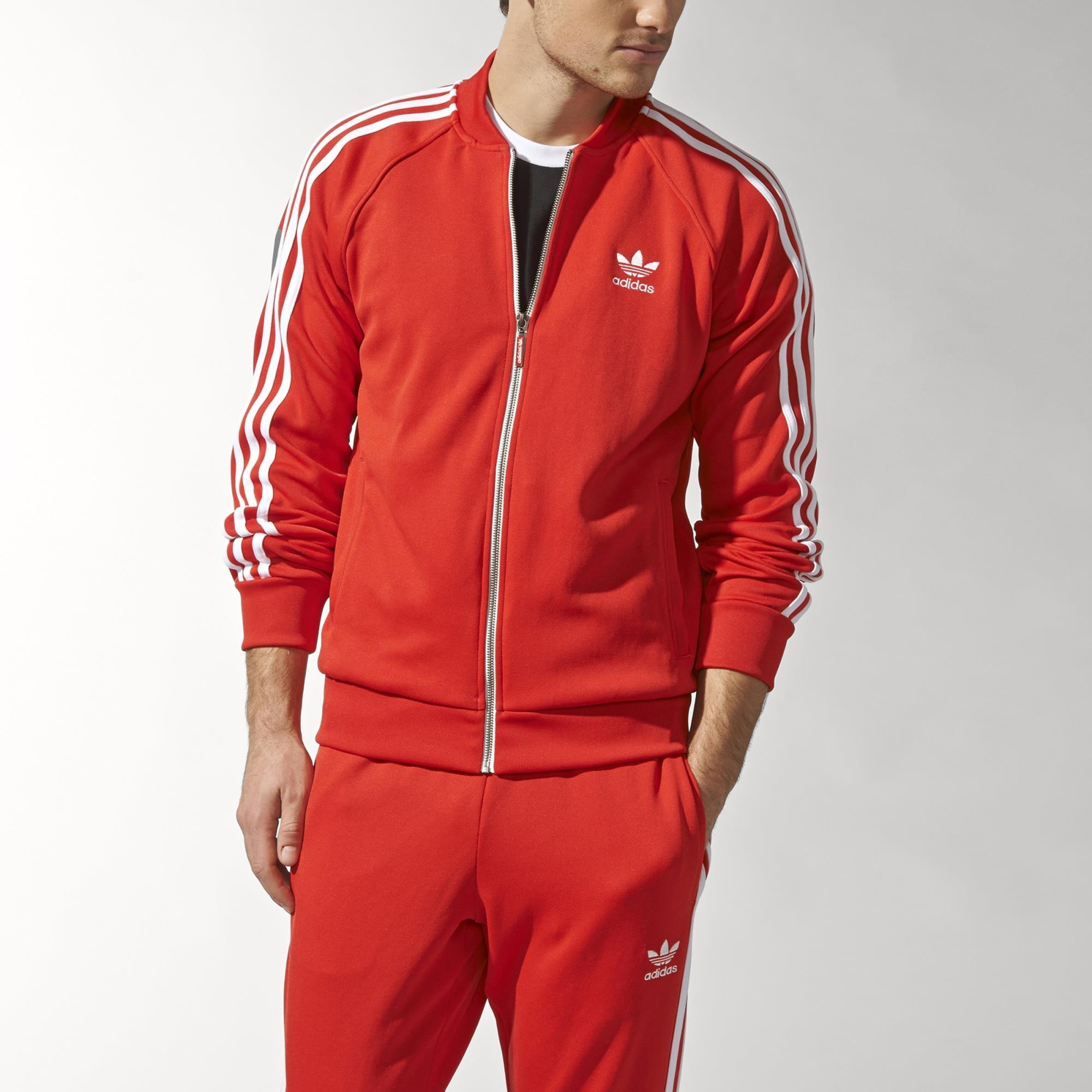track jacket superstar red adidas adidas italia. Black Bedroom Furniture Sets. Home Design Ideas
