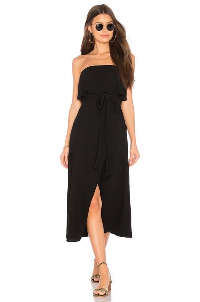 Vix Swimwear dress strapless dress strapless black