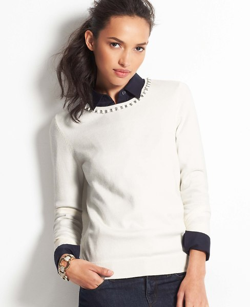 Deco Sweater | Ann Taylor