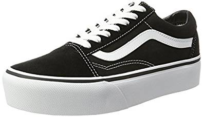 Amazon.com | Vans Unisex Old Skool Platform Skate Shoe | Fashion Sneakers