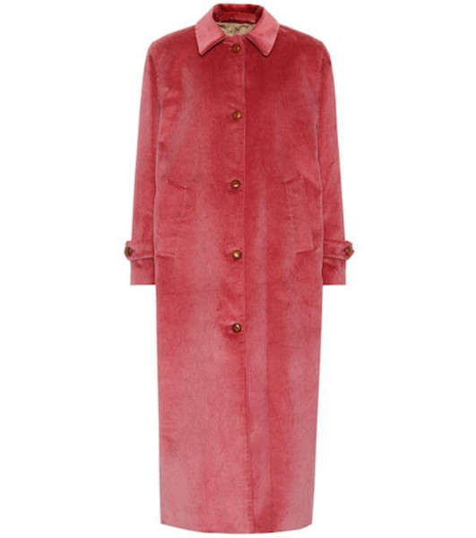 Giuliva Heritage Collection The Maria corduroy coat in pink