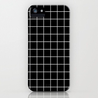 phone cover grunge iphone case grid checkered boyish grunge iphone cover