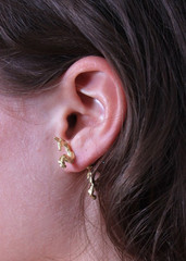 Sirenlondon — galloping unicorn earring