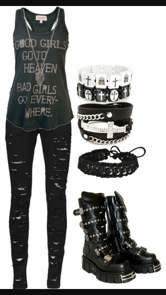 jeans black jeans skinny jeans rock emo punk punk rock punk rock jeans