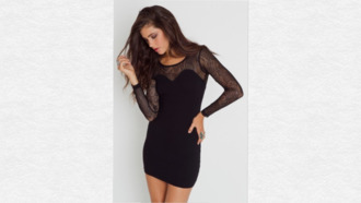 lace dress black dress mini dress hot short dress new year's eve sweetheart dresses long sequin dress