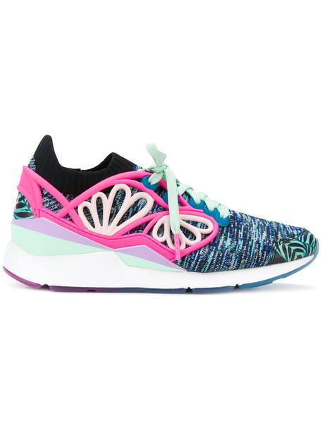 Puma X Sophia Webster women pearl sneakers blue shoes